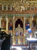 Inside one of the many churches just outside Ayia Napa