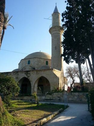 Sultan Tekke Mosque near the Larnaca salt Lake